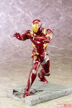 ARTFX Civil War Iron Man 002