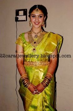 Jewellery at Tamil Actress Sridevi Wedding Party - Jewellery Designs