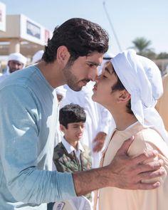 Hamdan bin Mohammed bin Rashid Al Maktoum y su sobrino, Mohammed bin Rashid bin Mohammed Al Maktoum, 2017. Foto: essa1010