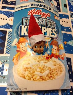Day 5 - Elf on the Shelf  What's for breakfast?  :)