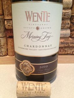 Wente Morning Fog Chardonnay ~ bright lemon & vanilla flavors! #WITS2012 Cheers ~ @WineEveryday
