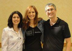 Cynthia and Devin with Swarovski Ambassador Lisa Pavelka. Tucson 2012