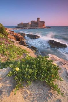 Photographic Print: Italy, Calabria, Crotone, Sunset at Le Castella by Alfonso Morabito : Oh The Places You'll Go, Cool Places To Visit, Places To Travel, Calabria Italy, Italy Tours, Southern Italy, Visit Italy, Italy Travel, Travel Pictures