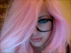 Can't wait for cotton candy pink hair!! Hopefully my hair lightens enough to put some in! :)