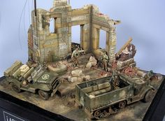 Scale: 1/35. Kit: Tamiya, Italeri y Verlinden. Comments: Several accesories. Location: Paris, Summer 1944. Release Date: 2004.