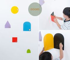 Bloesem Kids   Design Graduates NUS Singapore 2013   Doors by Ng Joon Yan & Xiao Qingyu
