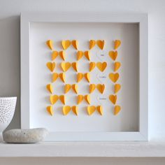love hearts by Sarah And Bendrix http://www.etsy.com/shop/sarahandbendrix http://www.sarahandbendrix.com/ #hearts #paper_crafts
