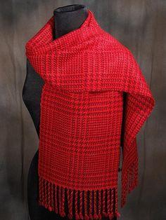 handwoven silk and merino