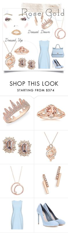 """Untitled #79"" by izzyb10203 ❤ liked on Polyvore featuring Anne Sisteron, LE VIAN, London Road, ZoÃ« Chicco, Diane Von Furstenberg, Miu Miu and Dolce&Gabbana"