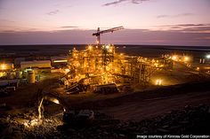 The Tasiast mining plant has a processing capacity of 2.5mt/y.