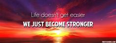 We Just Become Stronger