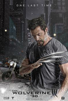 """Wolverine 3 Logan 2017 Art Movie Poster 24/""""x34/"""" 06"""