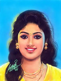 Oviyar Maruthi Indian Women Painting, Indian Art Paintings, Old Paintings, Beautiful Paintings, Beautiful Girl Indian, Beautiful Indian Actress, Pencil Sketch Portrait, 3d Art Drawing, Bridal Jewelry Vintage