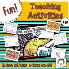 Some fun math and ELA activities inspired by the book Mr. Fine, Porcupine by Fanny Joly.