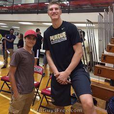Isaac Haas Purdue Basketball, Tall Guys, Album, Mens Tops, T Shirt, Fashion, Supreme T Shirt, Moda, Tee Shirt