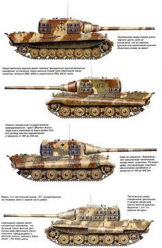 cazacarros superpesados alemanes Jagdtiger con cañón de 128 mm