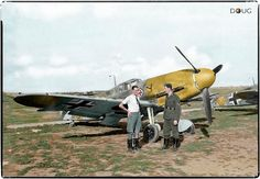 Staffelkapitän Hermann Graf of 9./JG 52., Bf 109F-4s at Kharkov Rogan, Ukraine in the Summer of '42