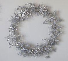 winter wreath cristmas decoration