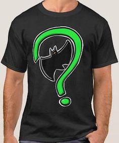 Batman And Riddler Logo Meet T-Shirt.