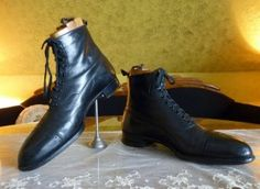 Edwardian Gentleman's Boots, England, ca. 1910