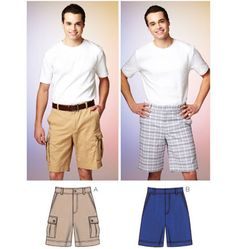 Elegant Image of Quick Sew Patterns Quick Sew Patterns Kwik Sew Mens Sewing Pattern 3884 Shorts Cargo Shorts Sewing Mens Sewing Patterns, Sewing Men, Kwik Sew Patterns, Sewing Clothes, Clothing Patterns, Sewing Ideas, Men Clothes, Sewing Projects, Sewing Tips