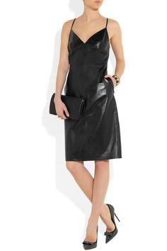 Amaz!  Valentino Leather dress NET-A-PORTER.COM