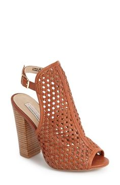 Kristin Cavallari 'Largo' Woven Leather Open Back Sandal (Women) available at #Nordstrom $150