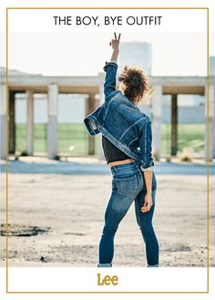 d18315de All you need is these Dream Jeans. And this jacket. Yoga Wear, Skinny. Lee