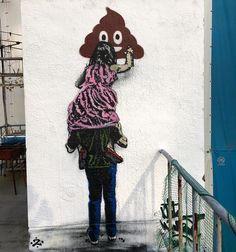 Poop by Nick Walker, located in Tokyo, Japan Nick Walker, Street Art News, Instagram Accounts, Instagram Posts, Magazine Art, Tags, Graffiti, Snoopy, Photo And Video