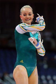 Larrissa Miller of Australia - Gymnastics qualification - London 2012