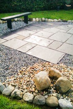 Small Limestone Patios and Stone feature.ie 60 Limestone Patio, Landscape Design, Garden Design, Ireland Landscape, Garden Landscaping, Sidewalk, Construction, Courtyards, Front Yard Landscaping