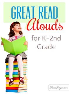 Tricia Goyer shares a list of her favorite read alouds for kids in kindergarten to second grade