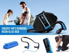 Haz clic en la imagen y consigue un #EnergyMP3RunningNeonBlue8GB #music #mp3 #running #sorteo #free
