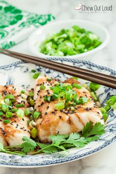 Ginger Soy Asian Steamed Fish 2