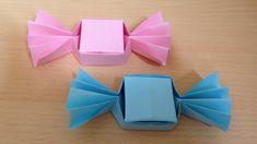 折り紙のキャンディボックス 簡単な折り方 Origami Candy box