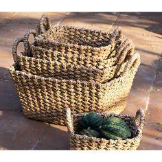 Malu Rectangular Basket