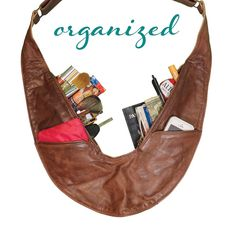 Sash Bags are the handbag alternative you've been looking for! Finally, a stylish way to be organized and comfortable while on the go.
