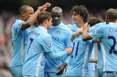 24th Sept 2011 - Mario Balotelli came on as a sub to strike first against Everton. They dropped points last week and with Man United playing later today, they needed this win to maintain their title challenge. 2-0 the final score.