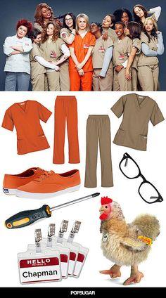DIY Halloween Costume Orange Is the New Black | POPSUGAR Love & Sex