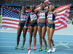 2011 world champion 4x100m women's team