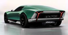Lamborghini Miura Nuova concept II on Behance