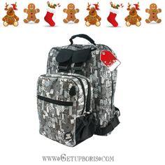 Esta navidad regalá algo original. Buscá nuestras mochilas desmontables para rollers que se adaptan a todas las actividades en tu día. www.getupboris.com