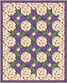 Garden Lattice Quilt Pattern been quilting my Garden Twist