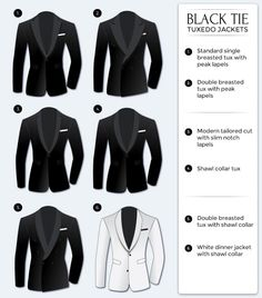 different-kind-tuxedo-jacket-styles