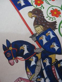 codex Manesse copy, detail 1
