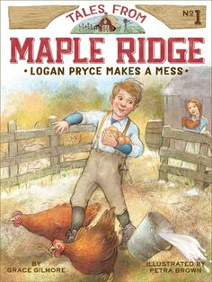 Meet Logan Pryce, an eight-year-old boy whose family hardships are made better by his small-town community in this start to a wholesome series that's like Little House on the Prairie for younger readers.It's 1892 in Maple Ridge, Illinois, and Logan Pryce is worried about his family. His dad, Dale, needs to find a new job because their farm is failing. He may even need to look for work in another city.