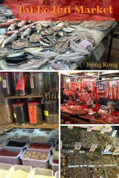 Photo tour of Tai Po Hui Market in Hong Kong.  Tai Po Hui Market is an example of how Hong Kong government modernized traditional wet market culture. Presently, it occupies 2 floors of a large warehouse-style structure built in 2004 and called Tai Po Hui Market and Cooked Food Centre.
