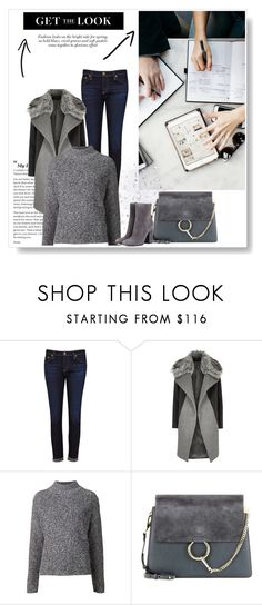 Sem título #654 by adrianabnu on Polyvore featuring moda, Hope, River Island, AG Adriano Goldschmied, Gianvito Rossi and Chloé