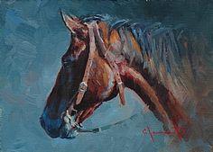 Horse Portrait ~ Jim Clements