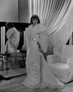 Margaret Sullavan from The Moon's Our Home, 1936. This is possibly the most gorgeous robe ever designed.